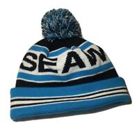 EXTREMELY RARE Vintage Sea World Toboggan With Pompom - SeaWorld Beanie - One Sz