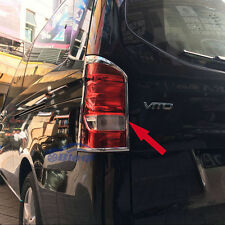 Chrome Car Rear Tail Light Lamp Cover Trim Fit Mercedes-Benz Vito 2016 2017