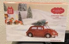 St Nicholas Square Village Christmas Tree Car - NEW