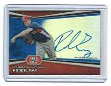 2012 Bowman Platinum Robbie Ray Blue Refractor Autograph #d 159/199 AUTO