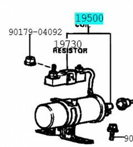 TOYOTA 90919-02098 Ignition Coil ASSY Genuine COROLLA LEVIN HILUX STOUT