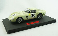1/18 BBR FERRARI 250 GTO 24HR LEMANS 1962 #20 BLACK DELUXE LEATHER LE 10 PCS MR