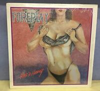 FOREPLAY Hot 'N Heavy 1986 USA Vinyl LP + INNER EXCELLENT CONDITION