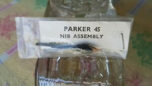 Vintage Parker 45 Fountain Pen Nib Only. Extra Fine. In Original Packet. Unused.