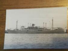 CPA - PHOTO WW2 navire de guerre