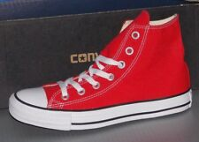 """CONVERSE """"CHUCK TAYLOR"""" ALL STAR HI in colors RED MENS 6 WOMENS 8"""