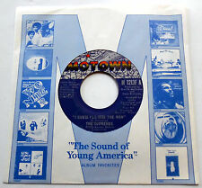 The SUPREMES 45 I Guess I'll Miss The Man MOTOWN label SLV Pippin 1972 Soul POP