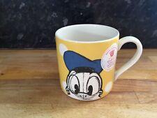 BNWT Cath Kidston Disney Donald Duck Mug Mickey Friends Yellow  Polka Dot Spot