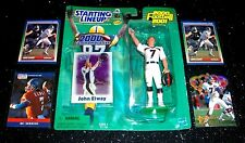 2000 JOHN ELWAY Starting Lineup Action Figure + 4 Football Cards '95 Pacific Lot