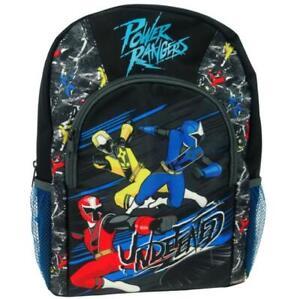 New Official Power Rangers Boys Kids Sports Backpack Rucksack School Nursery Bag