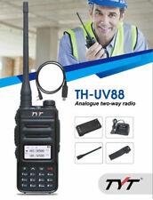 TYT TH-UV88 Dual Band VHF/UHF Analog Two Way Radio - Black
