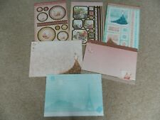 Hunkydory Adorable Scorable A4 Card Lovely Ladies 6 Sheets Die Cut -Gold/Glitter
