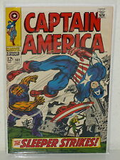 CAPTAIN AMERICA #102 - 3rd Red Skull - (MARVEL, 1968) VF- - Jack Kirby Art