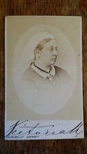 1870'S ANTIQUE CDV PHOTOGRAPH QUEEN VICTORIA - LONDON STEREOSCOPIC CO.