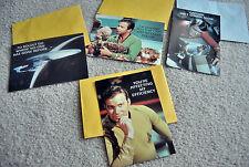 Lot of 4 Rare 1992 Hallmark Star Trek Greeting cards New Paramount Pictures