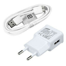 High Quality For Samsung Galaxy S5 Note 3 AC Wall Charger USB Cable  OEM