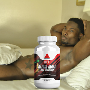 Alpha Male Testosterone Booster L Arginine, Maca, Ginseng Extract for Men