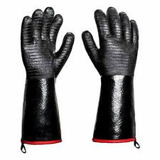 New listing Bbq Grill Gloves 932°F Heat Resistance Barbecue Grilling Gloves Smoker 14 inch
