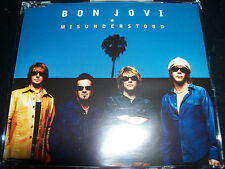 Bon Jovi Misunderstood Australian 4 Track CD Single – Like New