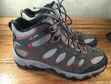 Merrell Men's CASTLE ROCK Hiking Boots Gray Suede Sz. 9.5 300 Grams