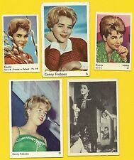 Conny Cornelia Froboess Fab Card Collection Goldene Schallplatte Derrick H