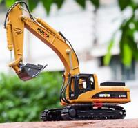 1:50 Scale Alloy Diecast Excavator Toy Toy Vehicle Tractor Model Alloy Excavator