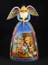 Jim Shore Heartwood Creek 'A Star Shall Guide Us' Angel Nativity Figurine