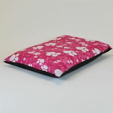 Medium Size Dog Bed - Washable cover Clearance - Paws (Pink Medium)