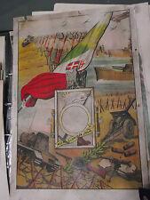 WW2 CORNICE ILLUSTRATA PORTA FOTO DI CADUTI ALPINI JULIA ARMIR CSIR RUSSIA att2