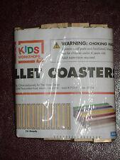 HOME DEPOT KIDS WORKSHOP PALLET COASTERS KIT LOWES BUILD GROW WOOD PROJECT