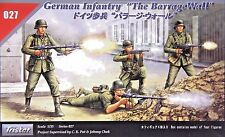 Tristar 027: 1/35 German Infantry The Barrage Wall (4 Figures)