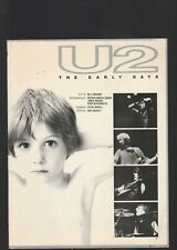 U-2 The Early Years, Loaded With Photos And Descriptions, 1980 Edition
