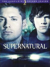 Supernatural: The Complete Second Season ~ 6-Disc DVD WS Set ~ FREE Shipping USA