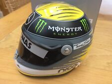 SCHUBERTH NICO Rosberg Mercedes GP Team 2011 resin F1 helmet 1:2nd scale