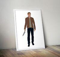 Dexter, TV, Print, Poster, Wall Art, Gifts, Home Decor