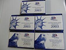 2003 MINT PROOF SET & PROOF QUARTERS