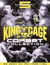 King of the Cage Combat Collection DVD 5 event set NEW