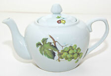 Tea Pot Fruit Grapes/Cherries Teapot Cordon Bleu BIA Kitchen Home Decor