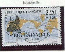 TIMBRE FRANCE OBLITERE N° 2521 BOUGUAINVILLE / Photo non contractuelle