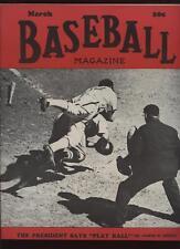 March 1942 Baseball Magazine EXMT