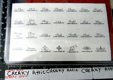 STAMPIN UP FANCY FLEXIBLE PHRASES 56 RUBBER STAMPS ALL OCCASIONS