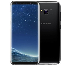 """Unlocked Samsung S8 G950F 5.8"""" 64GB Android Smartphone Black+Accessories Gift"""