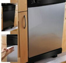Peel and Stick Premium Satin Stainless Steel Appliance Panel Film for Update