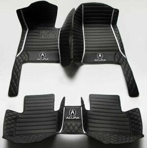 Non-slip Custom Luxury Car Floor Mat Fit Acura ILX MDX RDX TL RL TLX ZDX CDX TSX