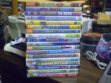 (24) Nick Jr. Pbs Kids Dvd Lot: Blaze Dora Peppa Pig iCarly Wild Kratts Rugrats