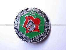 Insigne 3e Escadron de 1e REC opération Licorne 2003 OPEX Légion - FIA numéroté