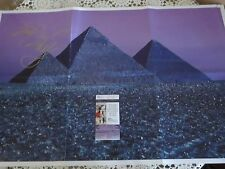 ROGER WATERS SIGNED PINK FLOYD 30X20 POSTER JSA AUTHENTICATED W/EXACT PROOF