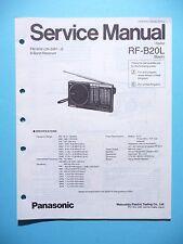 Service Manual-Anleitung für Panasonic RF-B20L  ,ORIGINAL