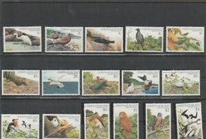 CHRISTMAS ISLAND 1982 BIRDS   SET    MNH VF