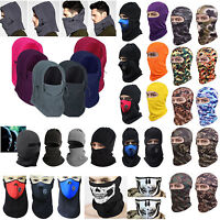 Balaclava Full Face Cycling Mask Hat Winter Thermal Neck Warmer Cover Ski Caps